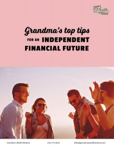 top tips for independent financial future